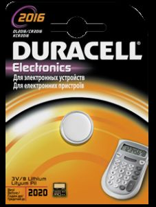 Батарейка Duracell 2016 Dl2016/CR2016 KCR2016