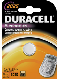 Батарейка Duracell 2025 DL2025/CR2025 ECR2025