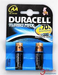 Батарейки Duracell Turbo Max АА LR6/MX 1500 (2 шт.)