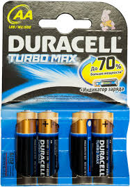 Батарейки Duracell Turbo Max АА LR6/MX 1500 (4 шт.)