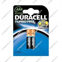 Батарейки Duracell Turbo Max ААА LR03/MX 2400 (2 шт.)